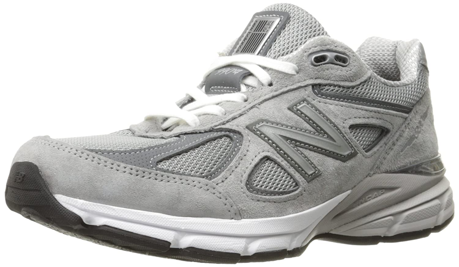 New Balance Women's w990v4 Running Shoe B0163GIPUG 5 2A US|Grey/Castlerock