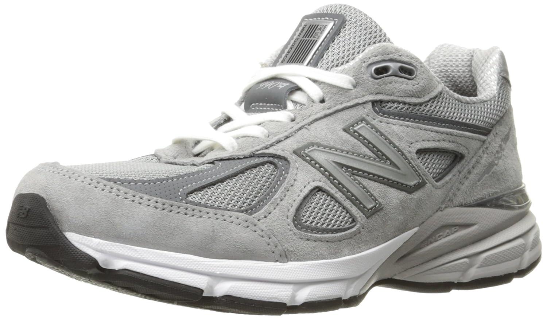 sports shoes ab25c 42323 New Balance Women's W990V4 Run Shoe-W, Grey/Castlerock 6 D US