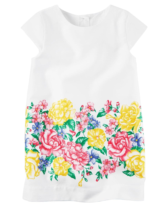 9681a8ca1e Amazon.com  Carter s Toddler Girls  Sateen Floral Shift Dress
