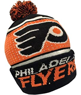 Forever Collectibles NHL Philadelphia Flyers Big Logo Knit Light Up Beanie  Hat 901c9caf5