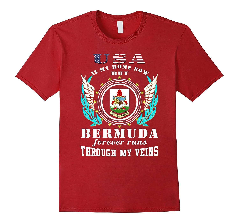 Bermuda runs through my veins T-Shirt-BN