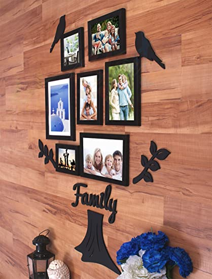998047157af4 Buy Art Street Family Tree Rectangle Synthetic Wall Photo Frame (60 cm x  120 cm x 2 cm