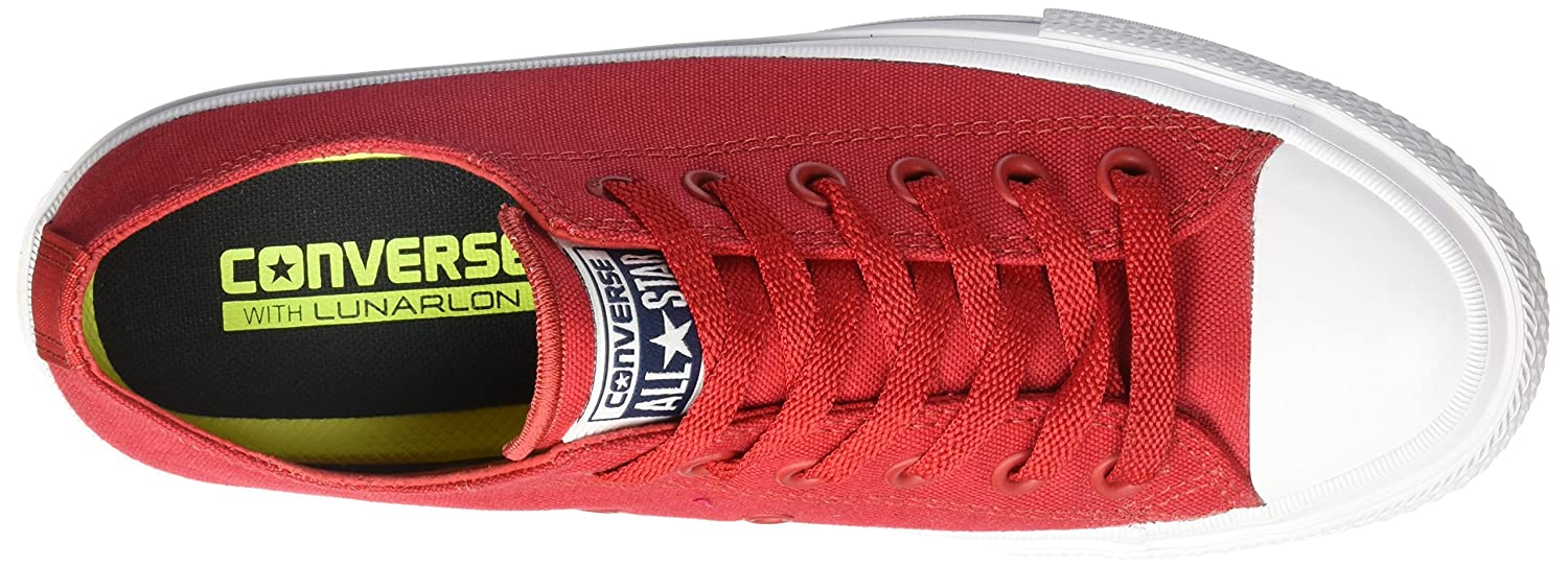 7c89a36febd Converse Women 150151C Low-Top Sneakers Red Size: 5.5: Amazon.co.uk: Shoes  & Bags