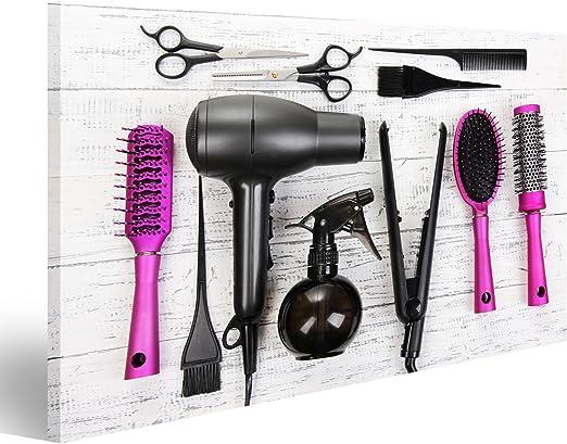 islandburner Cuadro Herramientas de peluquería en Primer Plano de ...