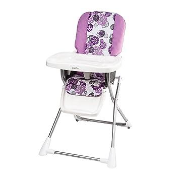 Evenflo Compact Fold High Chair Lizette  sc 1 st  Amazon.com & Amazon.com : Evenflo Compact Fold High Chair Lizette : Baby