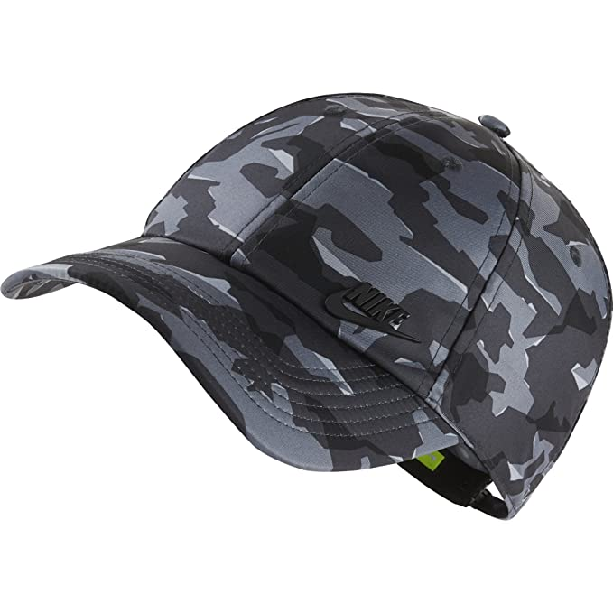 e906ee0c9a7 Nike Men s Cap (942212-060 Ant Black One Size)  Amazon.in  Clothing ...