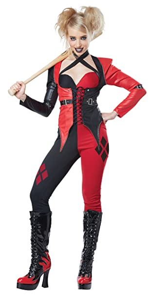 California Costumes Women S Psycho Jester Chick