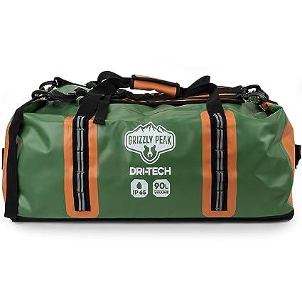 a42de1ad3a Amazon.com   Grizzly Peak Dri-Tech Waterproof Dry Duffle Bag