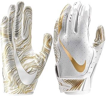 order look good shoes sale 2018 sneakers Nike Vapor Jet 5 Herren American Football Handschuhe White ...