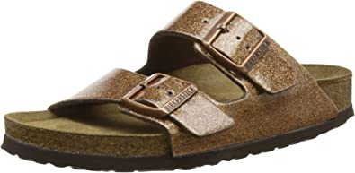 : Birkenstock Arizona WB Magic Galaxy Bronze