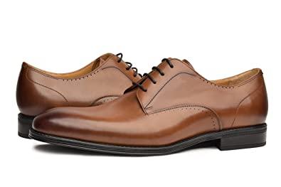 c318f9545ca33 COMOTEK Men's Comfort Dress Shoes - Classic Genuine Leather Dress Shoes,  Oxford