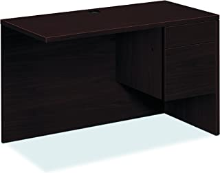 product image for HON 10515RNN 10500 Series 48 by 24 by 29-1/2-Inch L Workstation Return, Right, Mahogany
