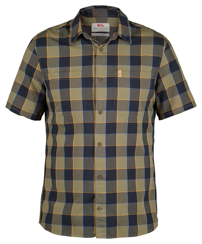 Fjallraven Mens High Coast Big Check Short Sleeve Shirt