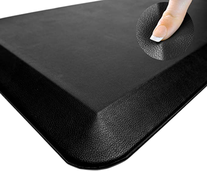 Sky Solutions Oasis Anti Fatigue Mat Cushioned Comfort Floor Mats For Kitchen Office Garage Padded Pad For Office Non Slip Foam Cushion For Standing Desk 20x32x3 4 Inch Black Kitchen Dining Amazon Com