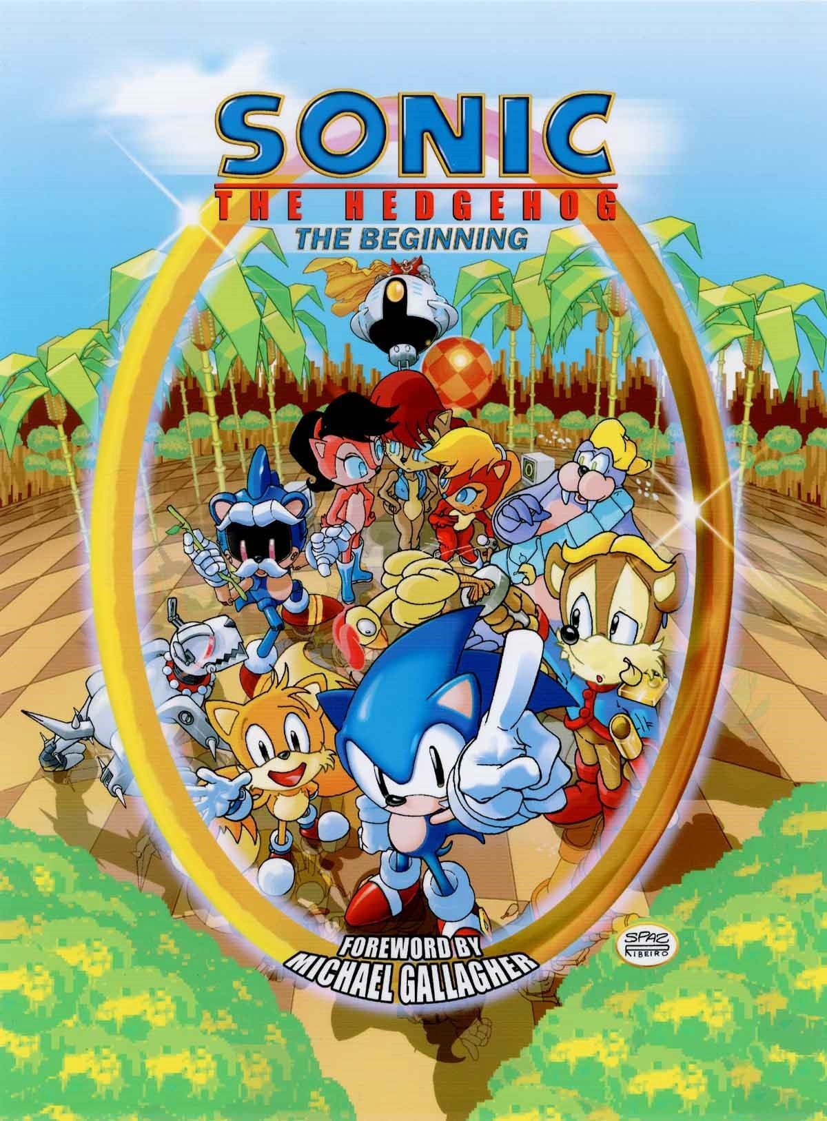 Sonic The Hedgehog The Beginning Various 9781879794122 Amazon Com Books