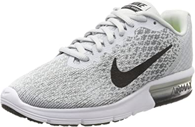 Negligencia médica Roble Quizás  Nike Air Max Sequent 2, Zapatillas de Running para Asfalto Mujer, Gris  (Pure Platinum/black-cool Grey-wolf Grey), 41 EU: Amazon.es: Zapatos y  complementos