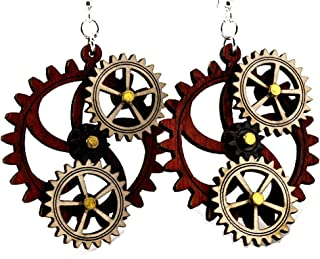 product image for Kinetic Gear Earring 5A