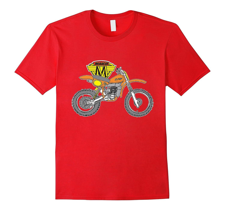 Cool Vintage Maico 490 MX T-Shirt-TH