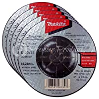 "Makita 5 Pack - 4 Inch Grinding Wheel For Grinders - Aggressive Grinding For Metal - 4"" x 1/4 x 5/8-Inch 