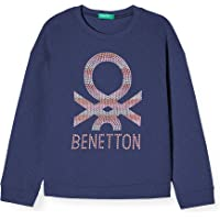United Colors of Benetton Felpa Sudadera para Niñas