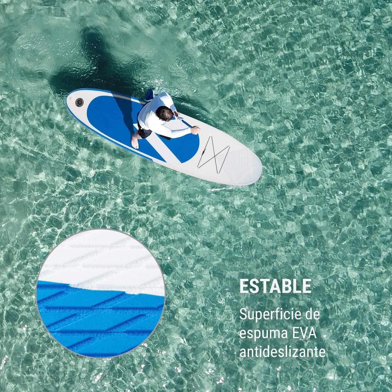 Kit reparaci/ón DropStitch Paddleboard Mochila de Transporte Pala Bomba de Aire Correa de Seguridad KLAR FIT Tabla Paddle Surf Hinchable SPREESTAR 300x10x71 cm Sup Surf