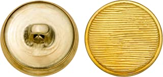 product image for C&C Metal Products 5152 Lined Livery Metal Button, Size 30 Ligne, Gold, 36-Pack
