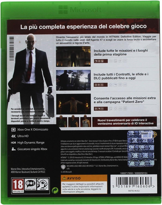 Hitman Definitive Edition, 20° Anniversario - Xbox One ...