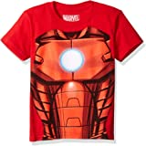Marvel Little Boys' Iron Man Costume T-Shirt