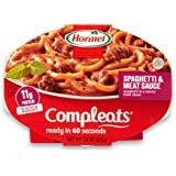 Hormel COMPLEATS Spaghetti & Meat Sauce, 7.5 Ounce (Pack of 7)