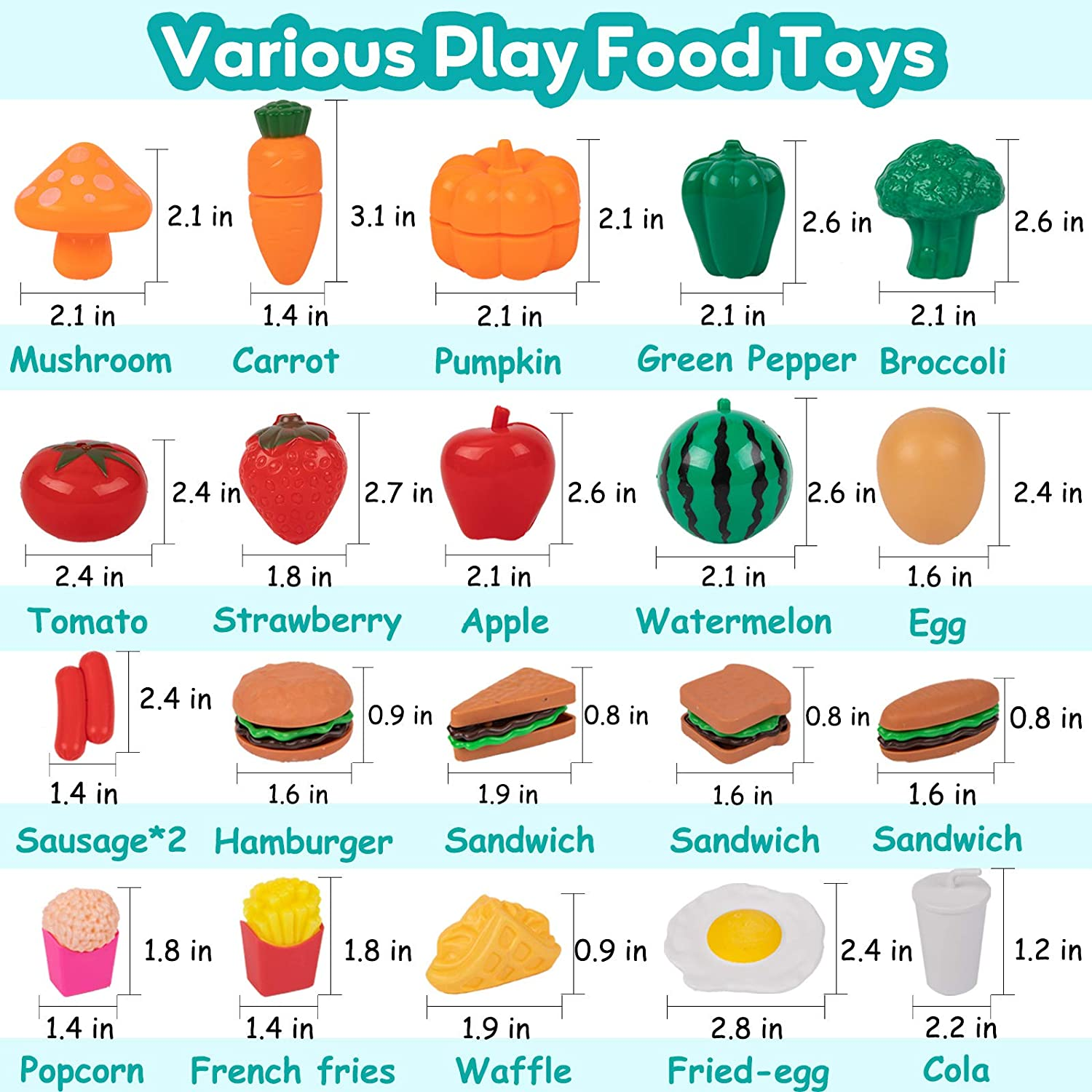 Cutting Play Food Cookware Playset with Pots and Pans Play Cooking Set Cooking Utensils Accessories 35PCS Kids Kitchen Play Toys Educational Gift for Toddlers Girls Boys Ages 3 4 5 6 Years Old