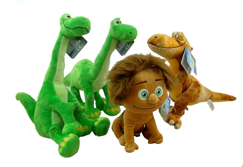 El viaje de Arlo - Peluche ARLO SENTADO (dinosaurio verde «El viaje de Arlo») 25 cm- The good dinosaur. Calidad super soft.: Amazon.es: Juguetes y juegos