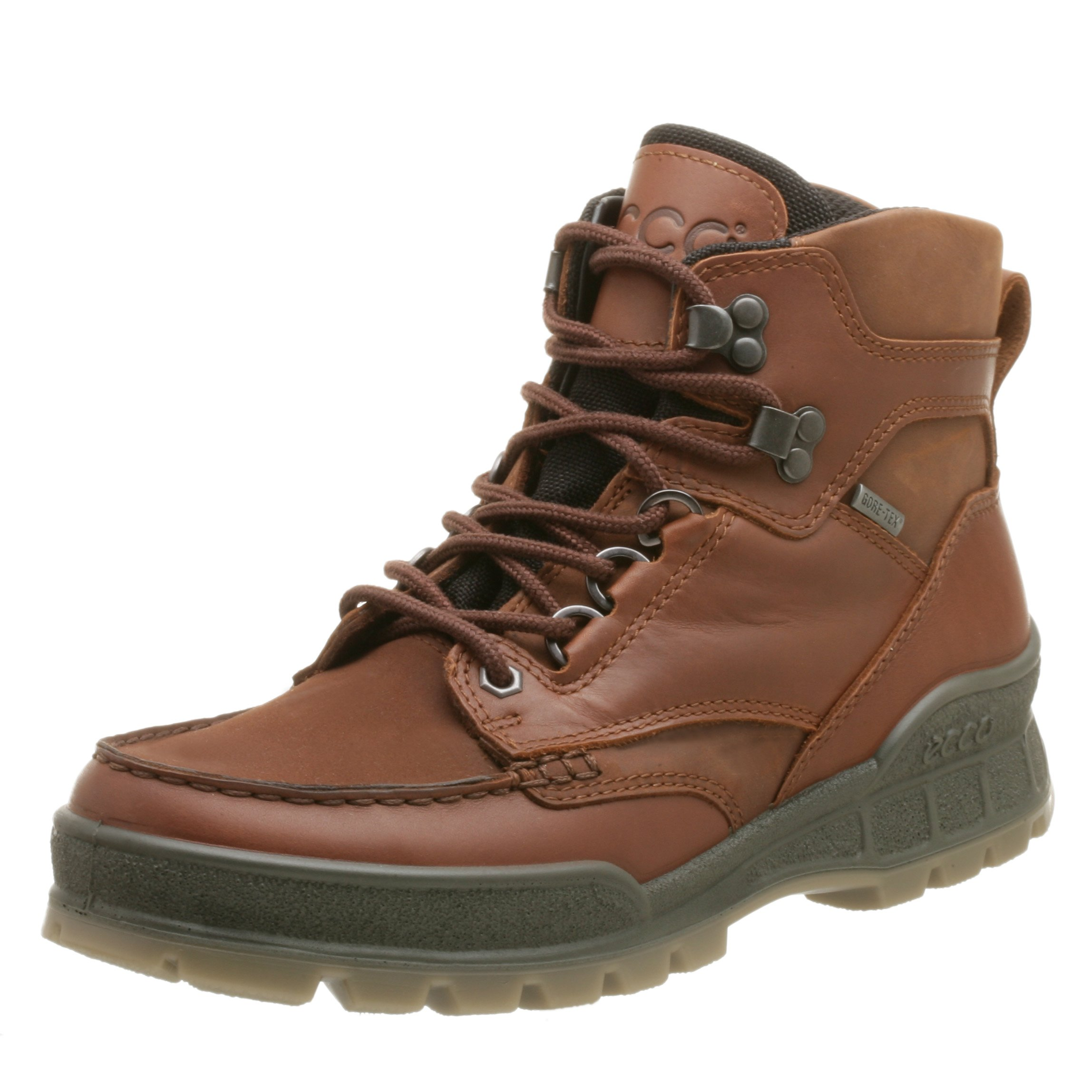ECCO Men's Track II Mid Gore-Tex Boot,Bison,45 EU (US Men's 11-11.5 M)