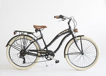 Via Veneto - Bicicleta Cruiser para mujer, fabricada en Italia ...
