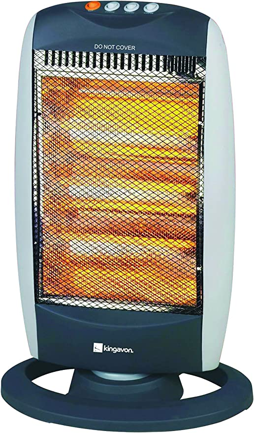 1200w Portable Halogen Heater | Remote