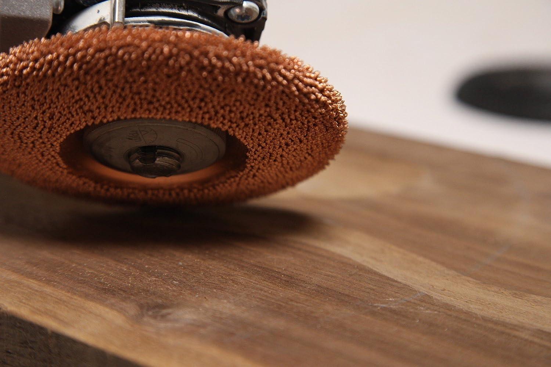 Bosch Coarse SD412O390 Makita Diameter x 7//8 4-1//2 22.2mm Abrasive Tungsten Carbide Kutzall Original Shaping Disc Woodworking Angle Grinder Attachment for DeWalt Bore 114.3mm Milwaukee