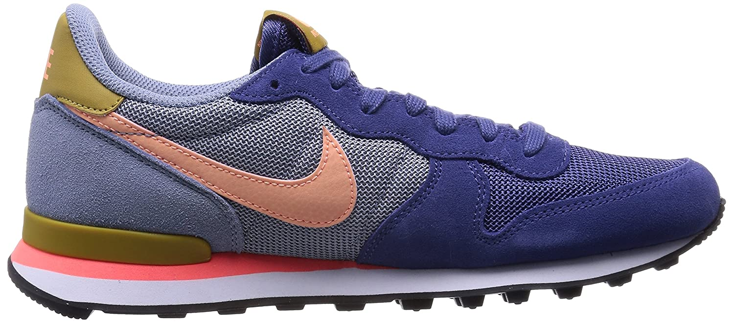 052c636a0 Nike 2015 Q2 Women Internationalist Fashion Sneaker Shoes Blue Legend 629684-404  (Women US 6. 0)  Buy Online at Low Prices in India - Amazon.in