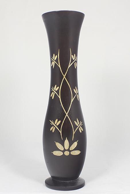 Amazon Handmade Mango Wood Vase 12 Home Kitchen