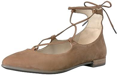 ECCO Shape Tie Up Ballerina Flat (Women's) j07aPG2m