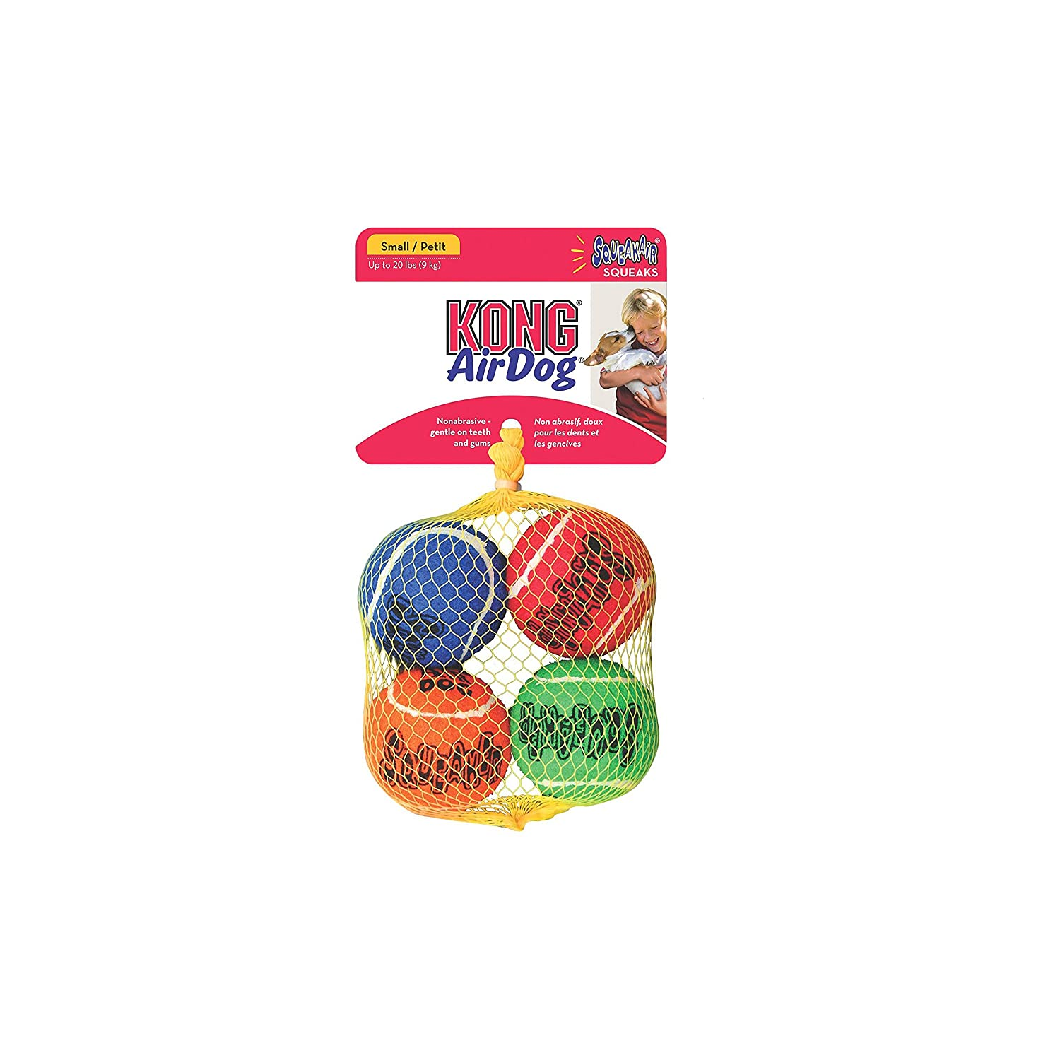 Kong Fetch Toy Small (4 Count)