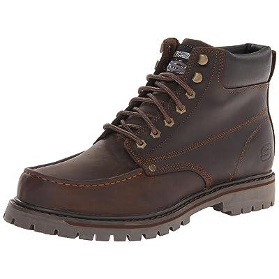 Skechers Men's Bruiser Chukka Utility Work Boot: Shoes