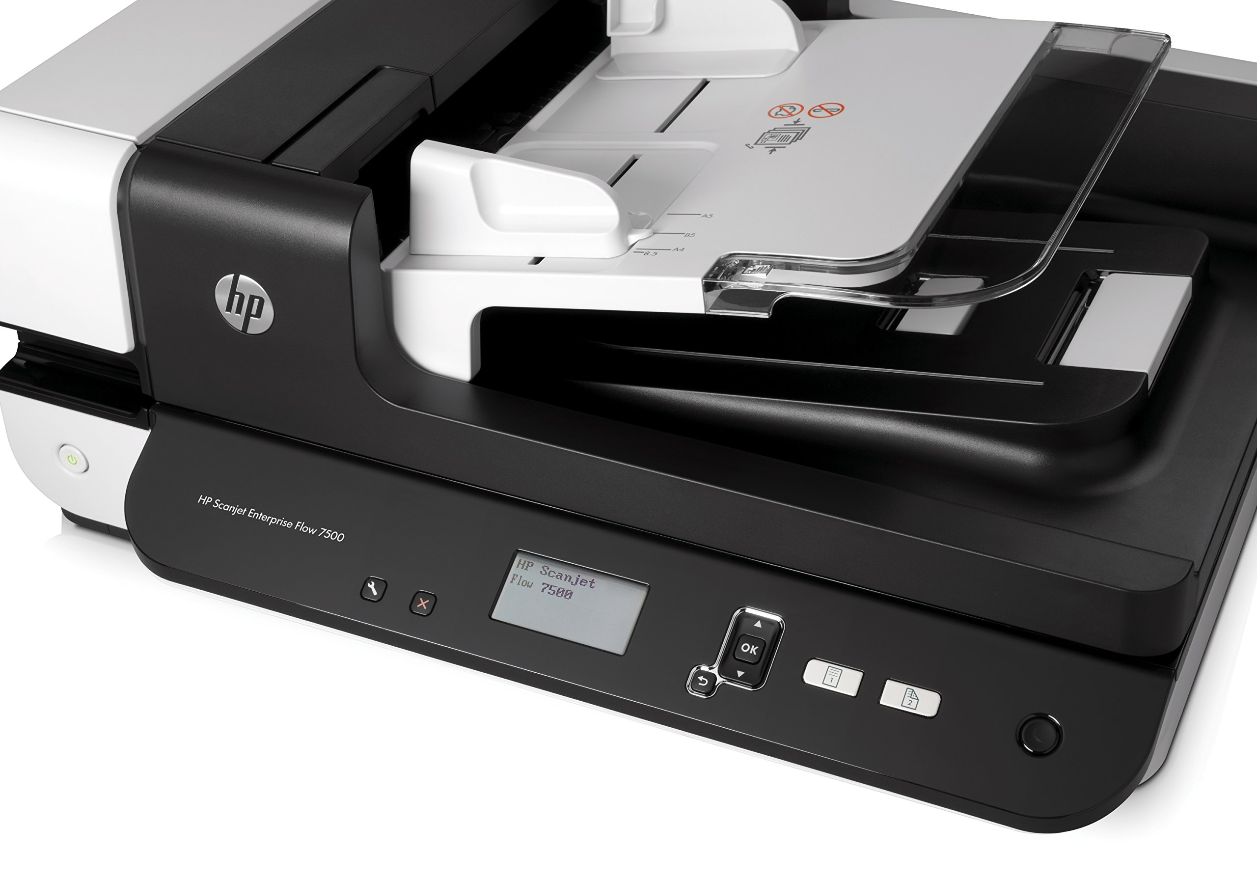HP ScanJet Enterprise Flow 7500 Flatbed OCR Scanner by HP (Image #7)