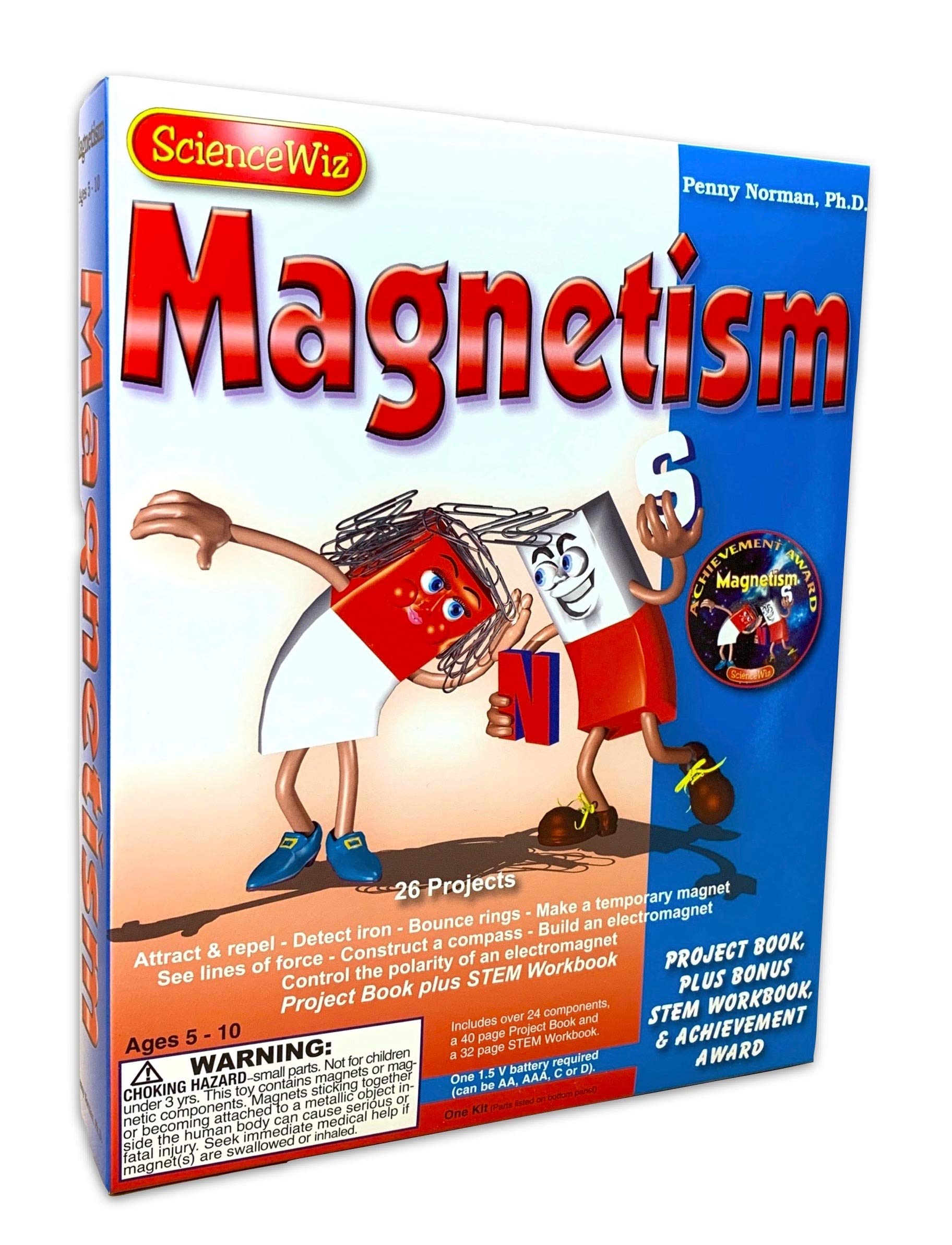 Science Wiz Magnetism with Workbook