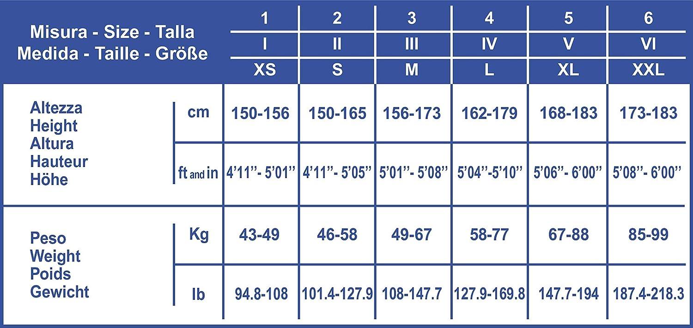 SCUDOTEX Collant 180 Deniers Maille Tricot/ée Compression D/écroissante Forte 23-26 Hg mm Couleur Noir Taille 4
