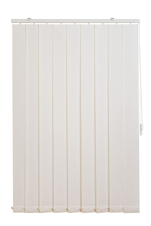 SunL Ines hw5007Tende Verticali fixmass, Tessuto, Bianco, 150x 180cm Heinrich Büscher GmbH
