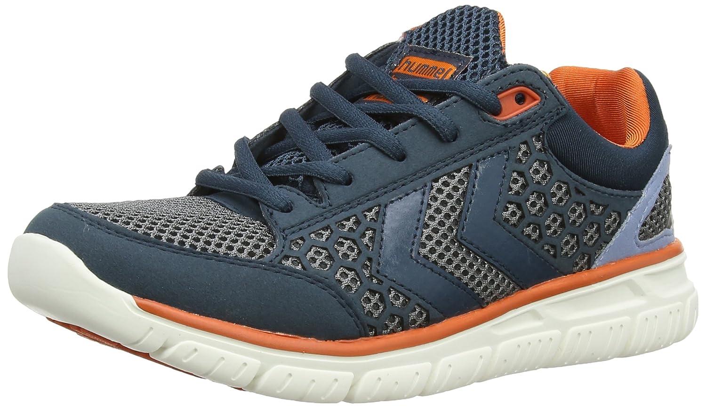 Hummel Crosslite Unisex-Erwachsene Low-Top Sneaker Blau (Majolica Blue)