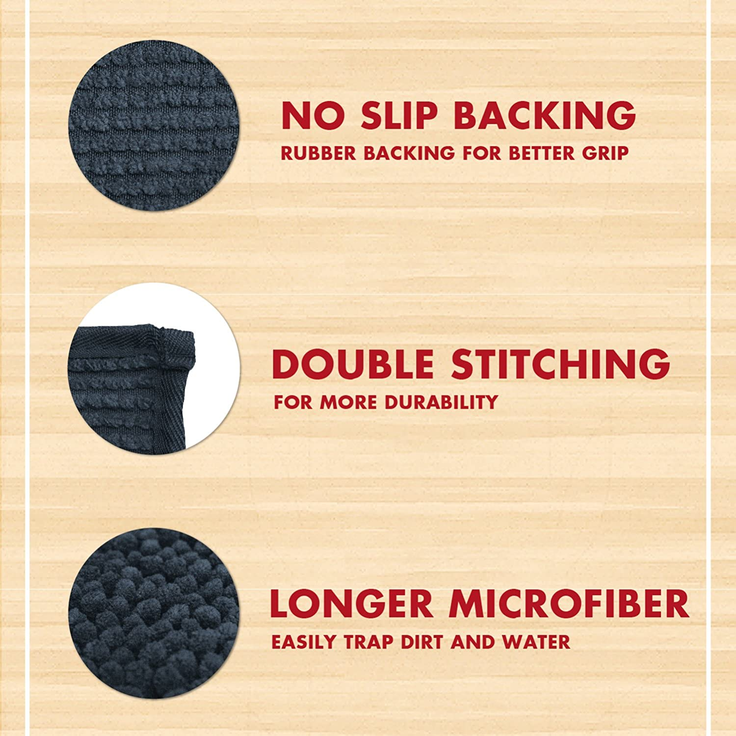Ultra Absorbent Microfiber Dog Door Mat Quick Drying My Doggy Place Durable Washable Prevent Mud Dirt Keep Your House Clean