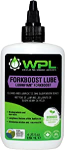 WPL Forkboost Bike Oil Lubricant and Cleaner, Rubber-Compatible Dust Seal Treatment for Lubrication of Bicycle Forks and Shocks
