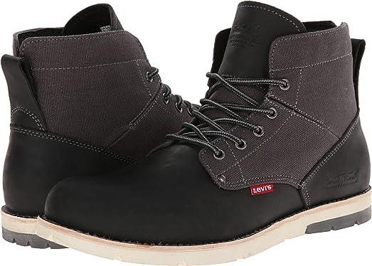Levi's Shoes Men's Jax Black/Charcoal Boot