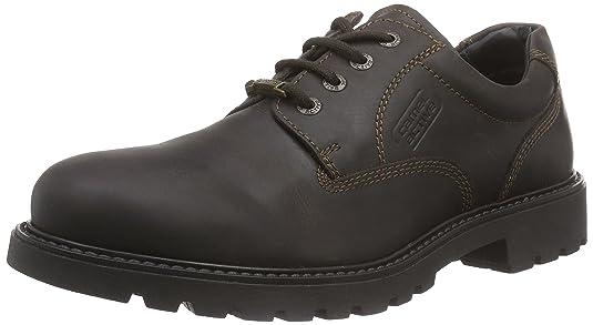 Camel Active Outback GTX 21 - Zapatos Hombre, Negro (Negro), 47