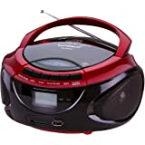 Sunstech CRUSM-390 Radio/Radio-réveil Lecteur CD MP3 Port USB